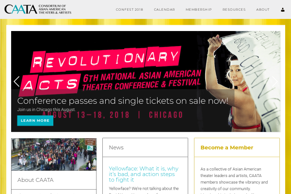 Consortium of Asian American Theaters & Artists